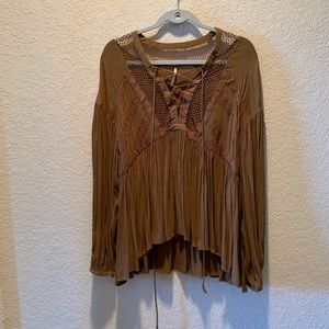 Free People swing top, size M